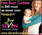 Image: Free Baby Sling from Seven Slings