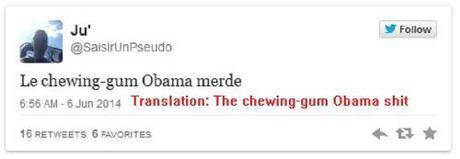 Obama chews gum2