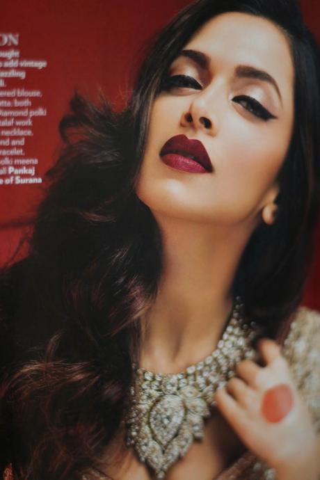 Deepika Padukone Instagram Vogue India And June 2014