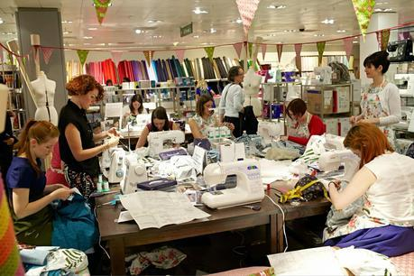The John Lewis Sewing Bee and the Betty Bacteria dress