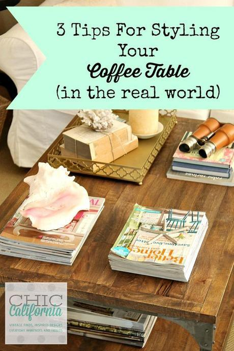 3 Tips for Styling Your Coffee Table