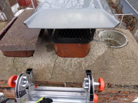 Missing top flue section