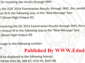 ICSE Class 10th Exam Results 2014 CISCE Result Declared