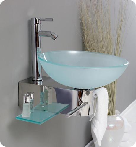 17.75 inch Cristallino Single Vessel Sink Vanity