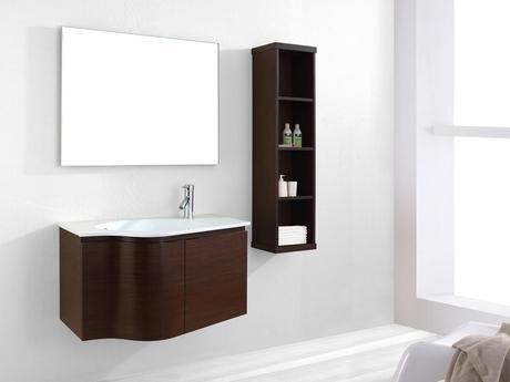 35.5 inch Roselle Single Bath Vanity Walnut