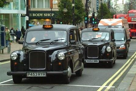 London cabs and why they are like big Publishing