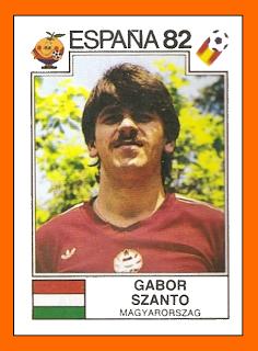 03-Gabor SZANTO Panini Hongrie 1982