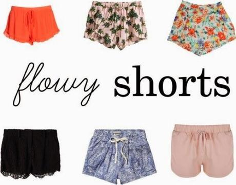 ♡Summer Trend: Flowy Shorts♡ - Paperblog