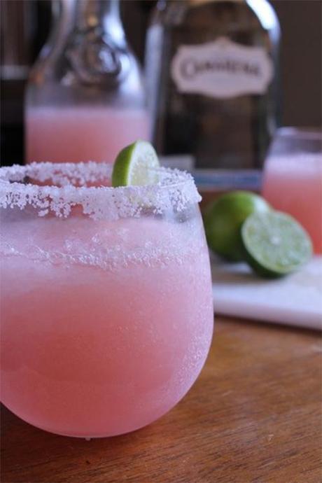 Pink lemonade margarita perfect for summer
