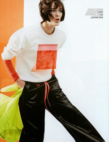 Sam Rollinson by Jason Kibbler for Vogue Magazine, Russia, July 2014