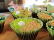 Recipe Fathers 'Hole One' Cupcakes