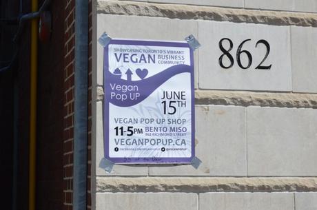 Vegan Pop Up Shop