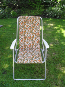 seventies garden chair