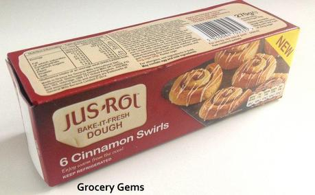 Jus Rol Cinnamon Swirls Jus Rol Bake it Fresh Cinnamon