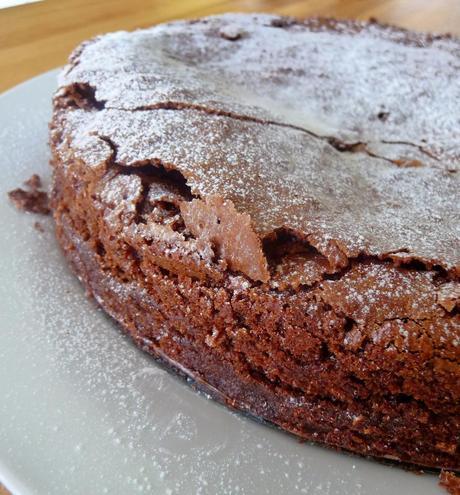 Amaretto Chocolate Torte - Gluten Free - Paperblog