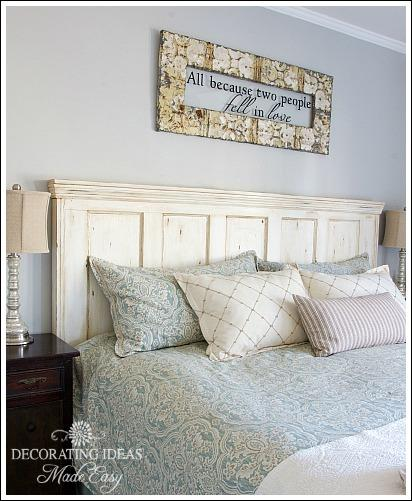 Do It Yourself Creative Headboards Ideas Using Shutters