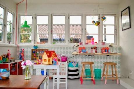 House & Home : Workspaces for Children