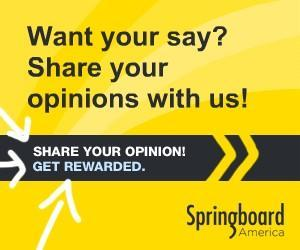 Image: Springboard America gives Americans like you the opportunity to speak up on what affects their daily lives - from products to politics