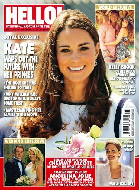 Kate Middleton For Hello Magazine, UK, June 2014