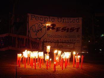 Jakarta WTO protest2