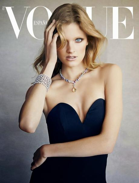 Constance Jablonski By Patrick Demarchelier For Vogue Magazine, Spain, July 2014