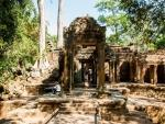 Prohm, Angkor, Siem Reap, Cambodia Tomb Raider Temple