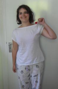 Red bra beneath a white shirt paperblog for White bra white shirt