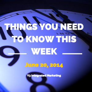 Things you need to know this week june 20