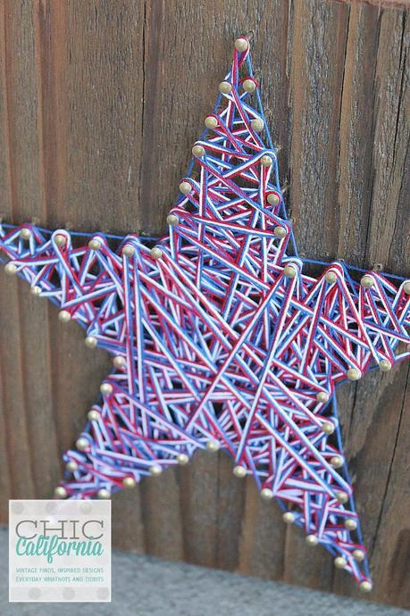 Star String Art