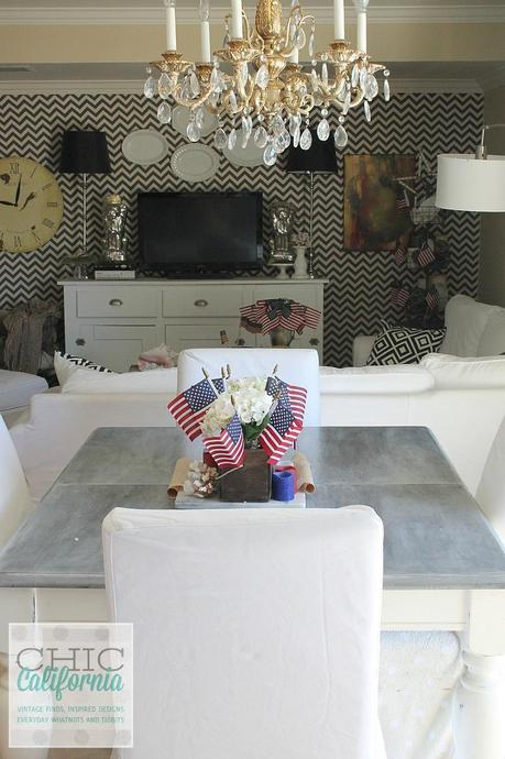 4th of July kitchen tour