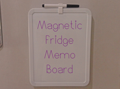 Magnetic Fridge Memo Board