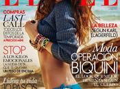 Nadejda Savcova Elle Magazine, Spain, July 2014