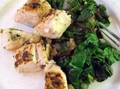 Turkey Breast Tenderloin with Garlicky Chard