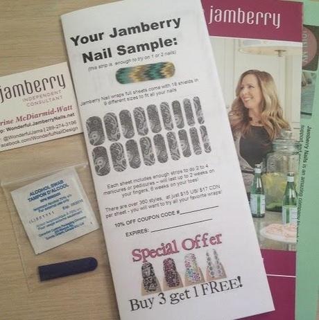 Request your jamberry nails sample us canada paperblog for Jamberry sample card template