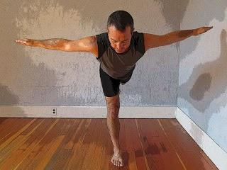 The Standing Leg and Knee in Warrior 3 Pose