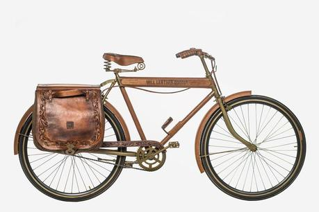Will's One of a Kind Leather Bicycle