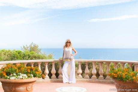 Fitness On Toast Faya Girl Blog Healthy Recipe Workout Clothes Charli London Yoga Pilates Loose Relaxed Comfortable Soft Beautiful Fabric Material Stylish Relaxed Grand Hotel Du Cap Ferrat France Jean Mus Landscape Architect-10