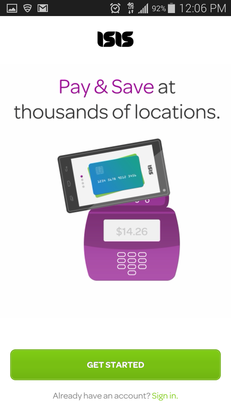 Pay With Your Phone With ISIS Wallet! #PaySmarter #MC