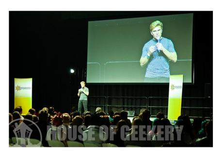 Vic Mignogna Supanova House of Geekery