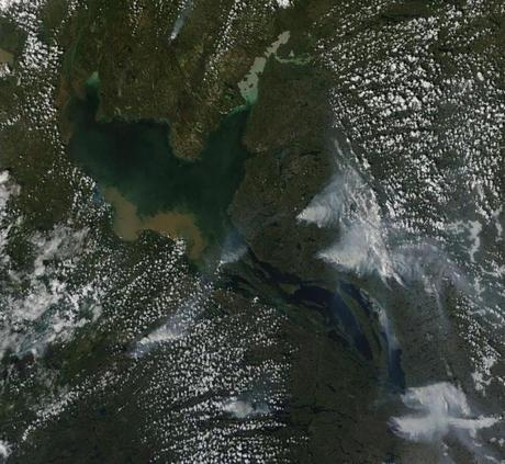 Late June 2014: Arctic in Hot Water as Sea Ice Thins and Tundra Fires Erupt