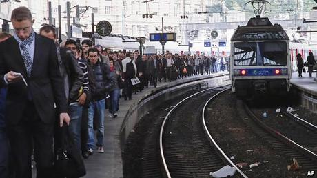 French rail strikes: Unhappiness is the truth