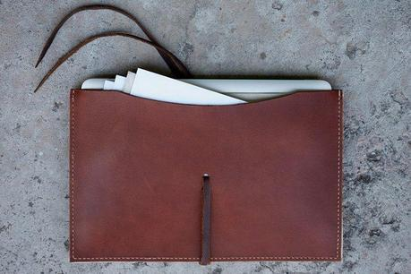 JM&Sons Handstitched Macbook Air Portfolio