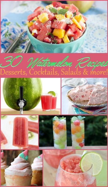 30 Watermelon Recipes
