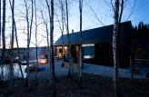 Blackened Timber Cottages by Format Elf Architekten