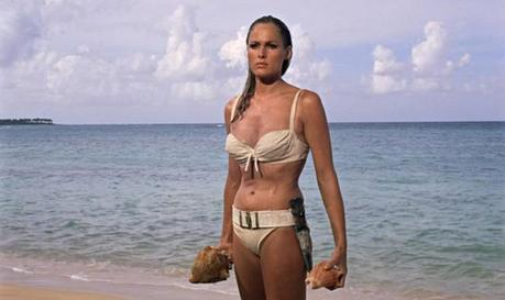 The producers evidently chose Dr. No as the first film in the series as it was decided that Honey's iconic emergence from the sea would validate the entire project. I'm sure