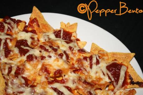 Barbecue Sauce Nachos
