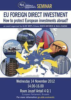 EU Foreign Direct Investment [SEMINAR]