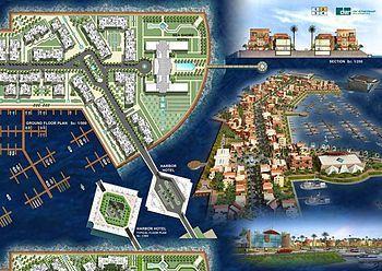 The Flower of the East Marina, a multi-billion...