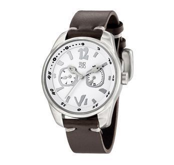 pero sin pausa 349 white and black leather watch uno de 50 mens fashion