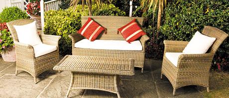 Panama Rattan Sofa Set Cozy Bay